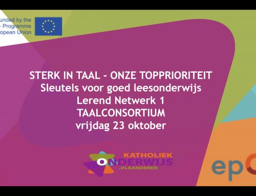 23.10.2020 – Lerend Netwerk Taalconsortium